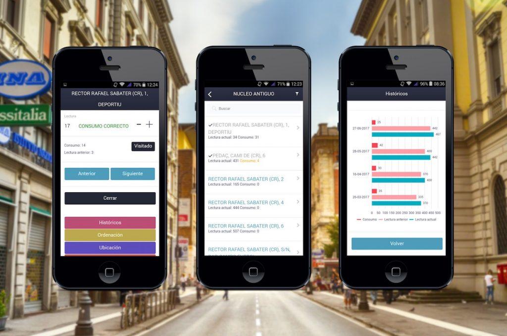 Nueva app para lecturas de agua iOs y Android - SisAgua